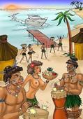 Animated Incest - Island Vacation