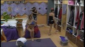 Romina Malaspina pussy oops in Big Brother