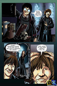 Misc - Harry Potter collection comics and arts