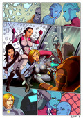 Misc - Mass Effect Mini Comics & Arts
