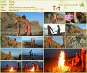 Fire dance paint & prance! - family nudism