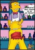 Comics - Toons  - Moes Pub [Featuring Simpsons]