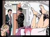 Drawingpalace - Silvio Dante - Hogtie gang