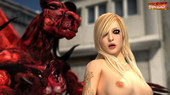 Monster Fucking Cute Girls - The Red Dragon 3D