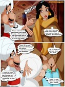 Cartoon Valley - Princess Jasmine And Deceitful Gossips