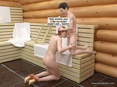 Incestbdsm - Steamy incest BDSM sex in sweatroom