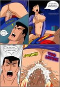 Justice Hentai - Comics 1-4