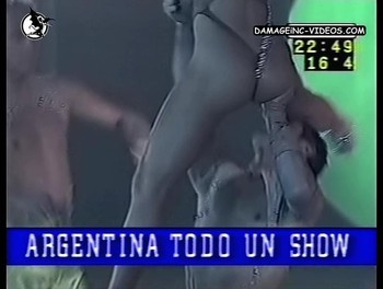 Maria Eugenia Rito ass in g-string damageinc videos