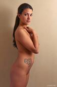 Busty amateur Jaycee West nude girl