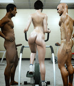AFFECT3D COMICS - NAKED GYM