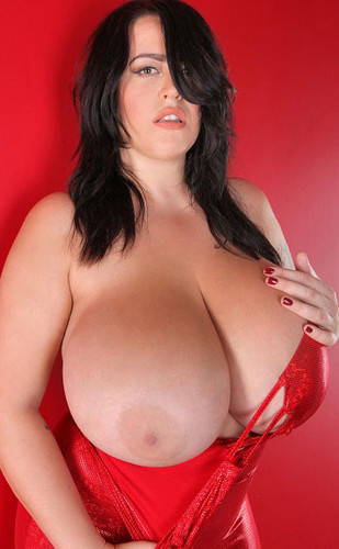 Leanne Crow – Huge Boobs Shiny Red Christmas 5D 1 HD 720p