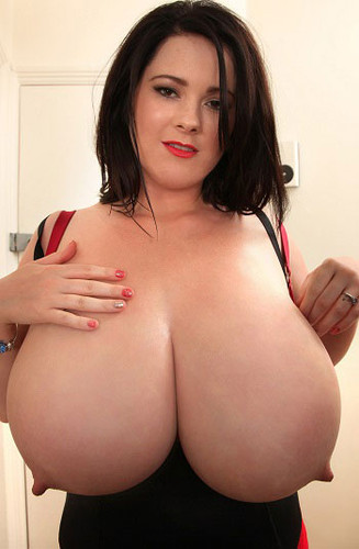 Rachel Aldana – Massive Boobs Red Satin Bra GoPro 1 HD 720p