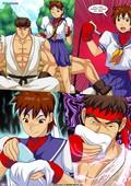 Palcomix – Vega vs Chun Li