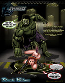 Smudge - Black Widow Vs. The Hulk