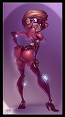 misc - pinups with Helen Parr