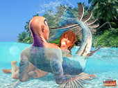 aqua monsters fucking cute girls - Aquaman of the  Carribean