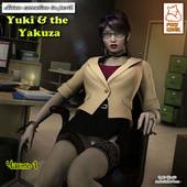 [Foxy Komix] Yuki and the Yakuza 1-2 [Russian]