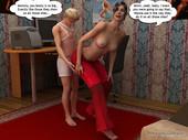 Magicincest - Mom caught Derek in masturbating eng